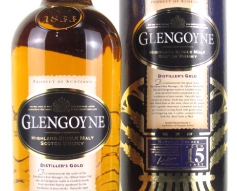 Glengoyne 15 YO – Distiller's Gold