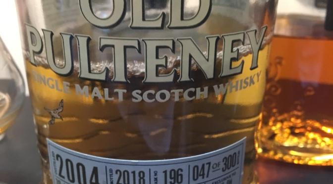 "Old Pulteney Ambassador's  Cask 2004 #196 047/300 Selected by ""Allt om Whisky"" 2018"