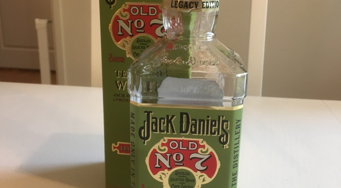 Jack Daniel's Old No. 7 Legacy Edition – 1st Edition