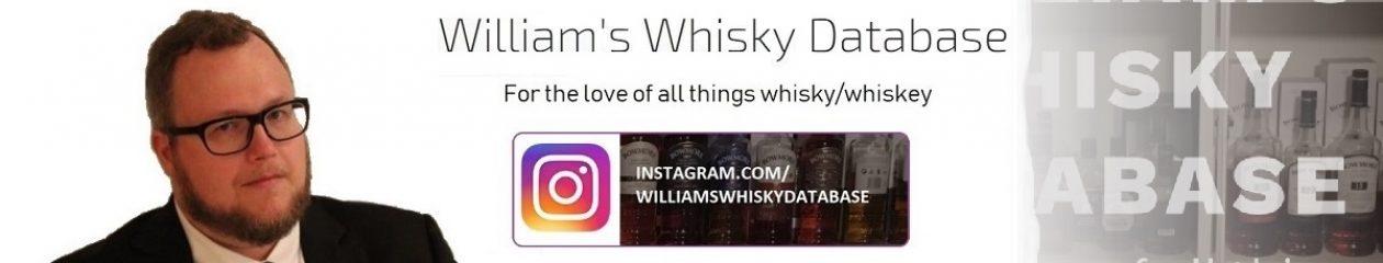 William's Whisky Database