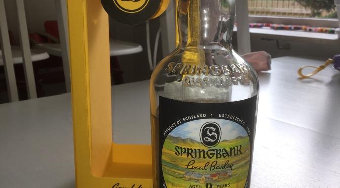 Springbank 9 YO – Local Barley 4th Edition