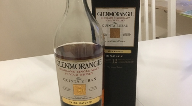Glenmorangie 12 YO – The Quinta Ruban Port Cask Finish