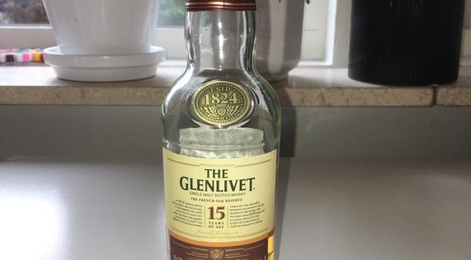 The Glenlivet 15 YO – The French Oak Reserve