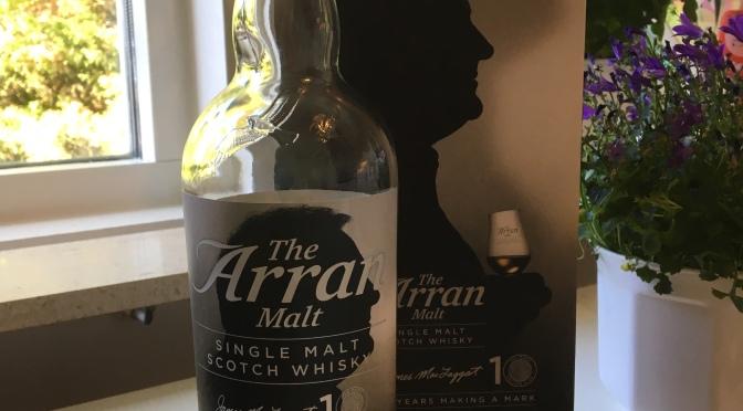 The Arran Malt 10 YO – Master of Distilling Jim McTaggart's 10th Anniversary Limited Edition