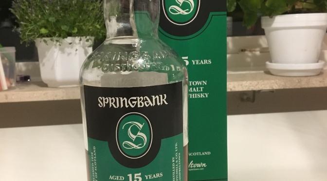 Springbank 15 YO (2018 Release)