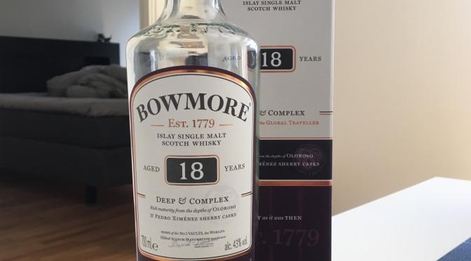 Bowmore 18 YO – Deep & Complex