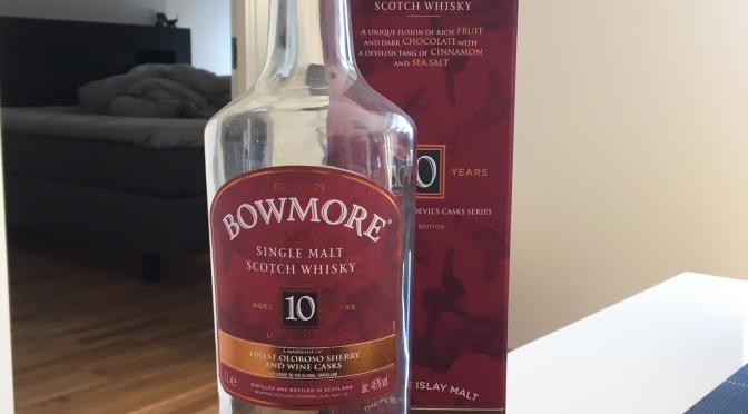 Bowmore 10 YO – Inspired by the Devil's Casks
