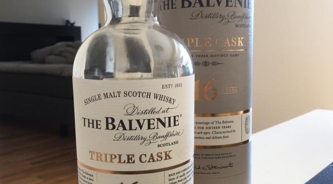 The Balvenie 16 YO – Triple Cask
