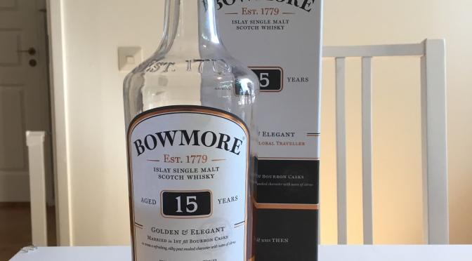 Bowmore 15 YO – Golden & Elegant
