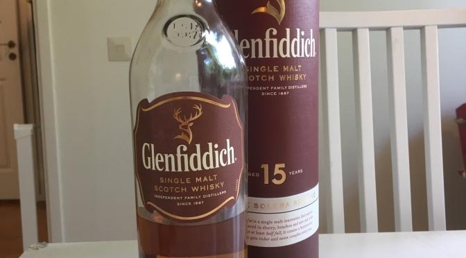 Glenfiddich 15 YO – Unique Solera Reserve