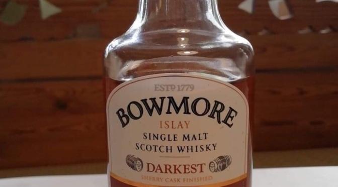 Bowmore 15 YO – Darkest
