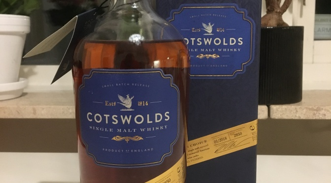 Cotswolds Founder's Choice – Batch 01/2018