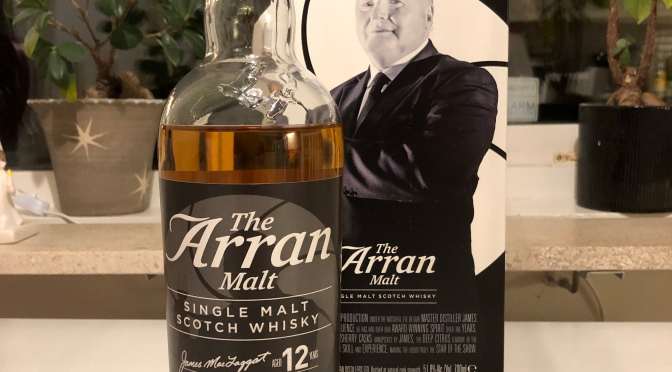 The Arran Malt 12 YO – Master of Distilling II The Man With The Golden Glass