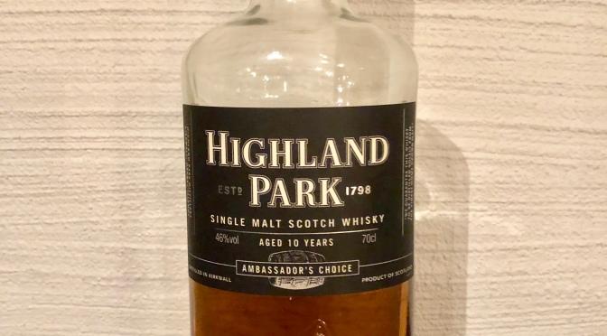 Highland Park 10 YO – Ambassador's Choice