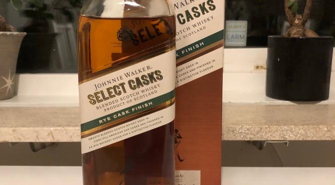 Johnny Walker 10 YO Select Casks – Rye Cask Finish