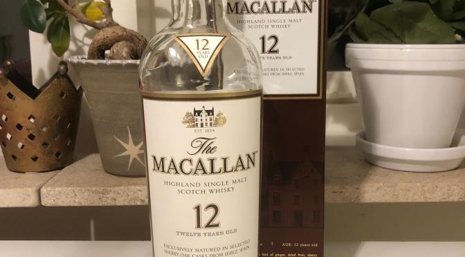 The Macallan 12 YO – Sherry Oak Cask