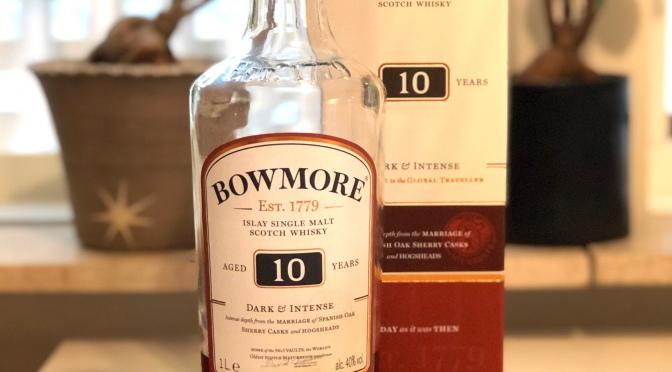 Bowmore 10 YO – Dark & Intense
