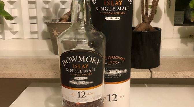 Bowmore 12 YO – Enigma