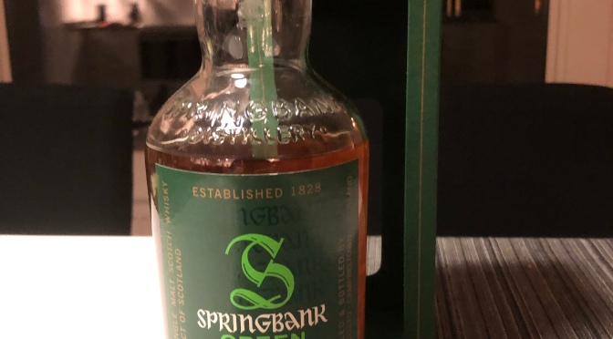 Springbank 13 YO – Green
