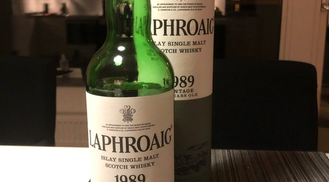 Laphroaig 1989 Vintage 23 YO