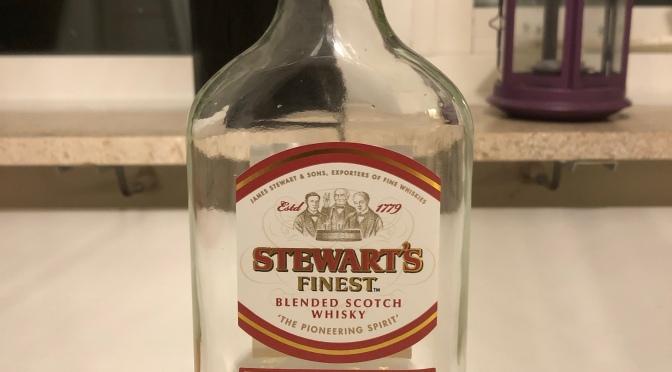 Stewart's Finest Blended Whisky