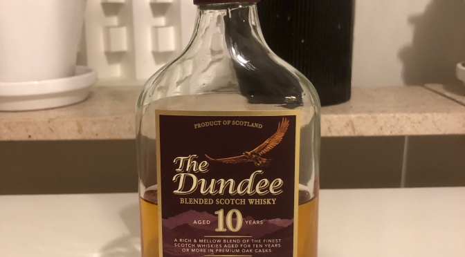 The Dundee 10 YO – Vintage Reserve