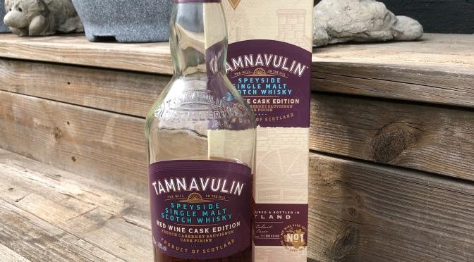 Tamnavulin Red Wine Cask Edition – Cabernet Sauvignon