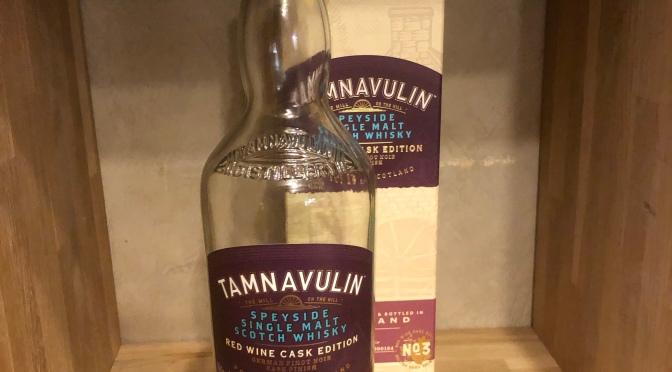 Tamnavulin Red Wine Cask Edition – Pinot Noir
