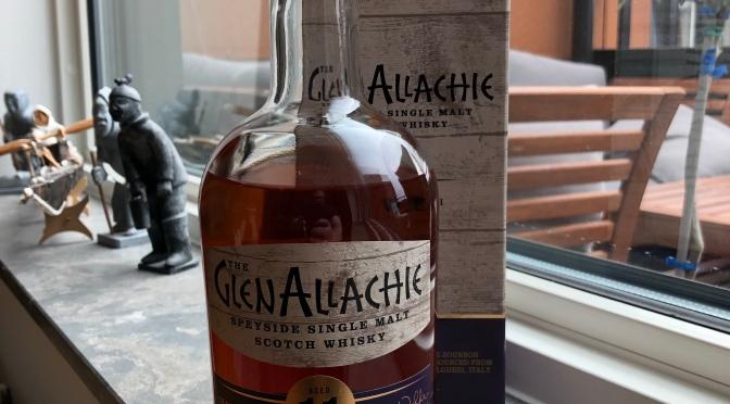 Glenallachie – 11 YO Grattamacco Wine Cask Finish
