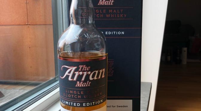 Arran Malt 21 YO – Limited Edition Exclusively Bottled for Sweden